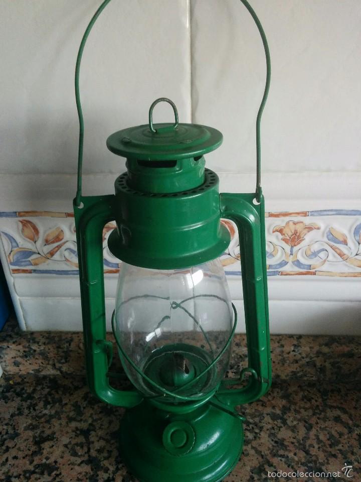 ANTIGUO QUINQUE (Vintage - Lámparas, Apliques, Candelabros y Faroles)