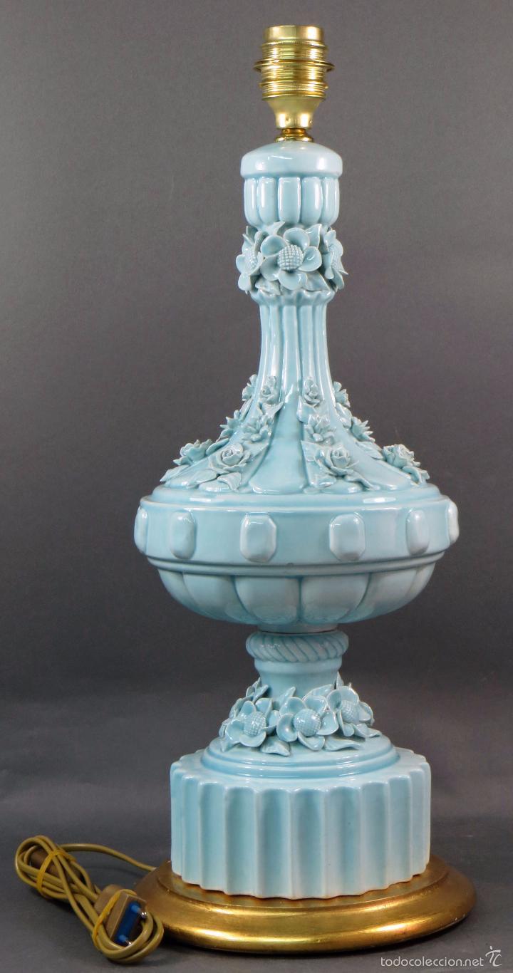 L mpara manises vintage cer mica vidriada a os comprar l mparas vintage apliques candelabros - Apliques y lamparas ...