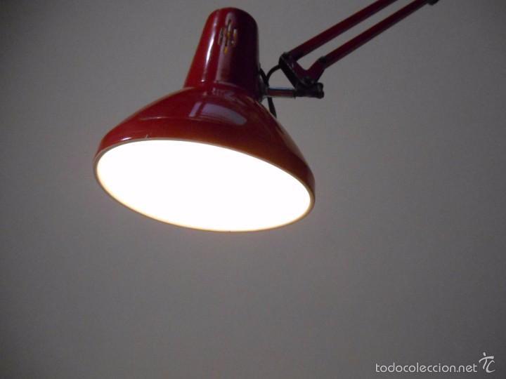 Vintage: ANTIGUA LAMPARA EXTENSIBLE METALICA PORTATIL - AÑOS 60 - - Foto 4 - 58941410