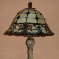Vintage: PRECIOSA LAMPARA DE SOBREMESA ESTILO TIFFANY, ART- DECÓ. Lote 59584543