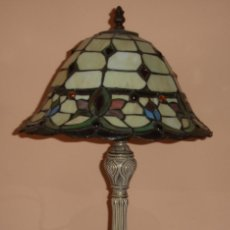 Vintage: PRECIOSA LAMPARA DE SOBREMESA ESTILO TIFFANY, ART- DECÓ. Lote 59584723