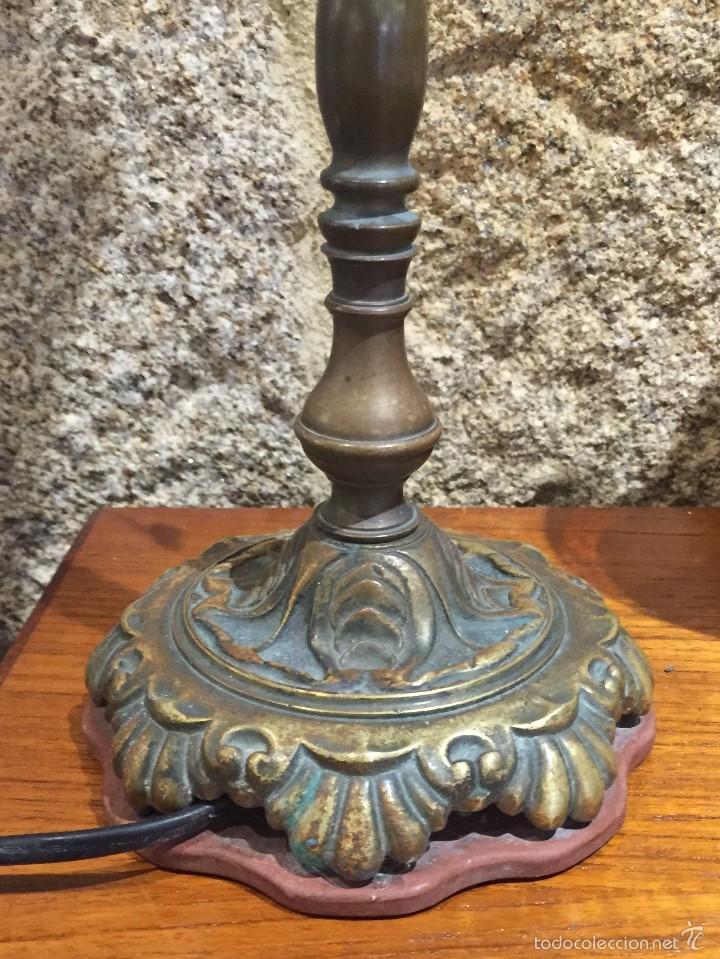 Vintage: Lámpara sobremesa tulipa hacia arriba - Foto 6 - 61147855