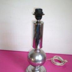 Vintage: LAMPARA DE SOBREMESA CROMADA SIN TULIPA.. Lote 61288679