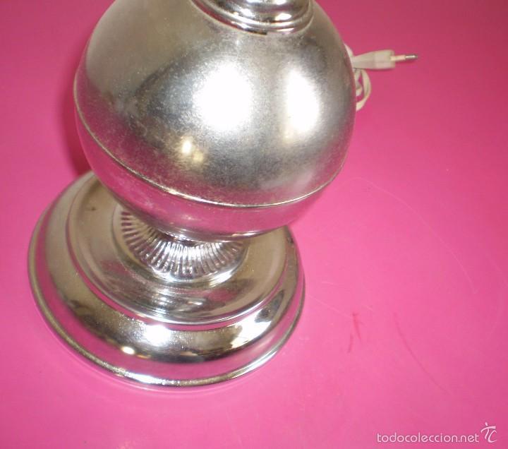 Vintage: Lampara de sobremesa cromada sin tulipa. - Foto 2 - 61288679