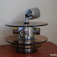 Vintage: LÁMPARA DE TECHO DE CRISTAL Y METAL - AÑOS 60-70 - VINTAGE. Lote 61955800