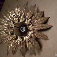 Vintage: LAMPARA HOJAS. Lote 62162252