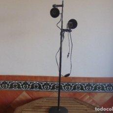 Vintage: LAMPARA DE PIE DE LA MARCA FASE REGULABLE EN ALTURA Y DIRECION . Lote 62284188