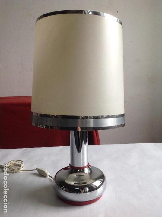 LÁMPARA SOBREMESA (Vintage - Lámparas, Apliques, Candelabros y Faroles)
