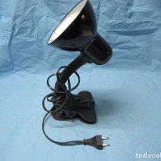 Vintage: LAMPARA CEPO MODIFICABLE PARA OFICINA O MESA DE TRABAJO. Lote 63125968