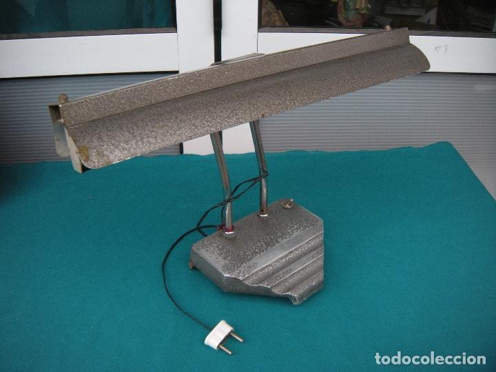 FLEXO LÁMPARA DE SOBREMESA (Vintage - Lámparas, Apliques, Candelabros y Faroles)