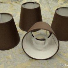 Vintage: TULIPAS INDIVIDUALES COLOR MARRÓN. Lote 63341384