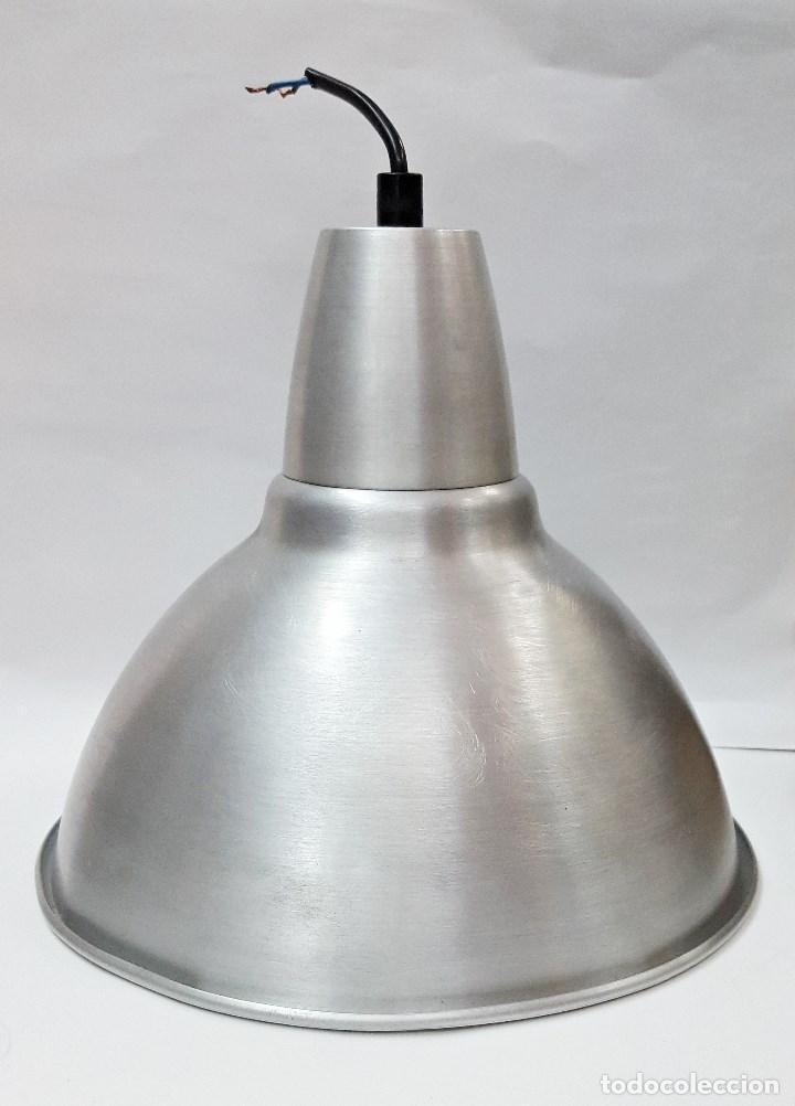 Lampara de colgar tipo industrial de aluminio comprar l mparas vintage apliques candelabros - Apliques y lamparas ...