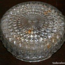 Vintage: PLAFON DE CRISTAL PARA LAMPARA VINTAGE . Lote 63684615