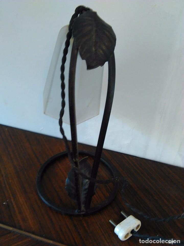 Vintage: lampara de tulipa sobremesa - Foto 2 - 63850639