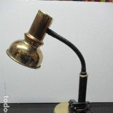 Vintage: LAMPARA DE MESA METAL, . FLEXIBLE. . Lote 64423099