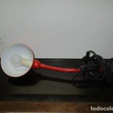 Vintage: ANTIGUA LAMPARA FLEXO PINZA SERPIENTE. RETRO VINTAGE.AÑOS 70. . Lote 64423155