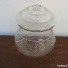 Vintage: TULIPA DE CRISTAL GRABADO AL ACIDO. Lote 65835558