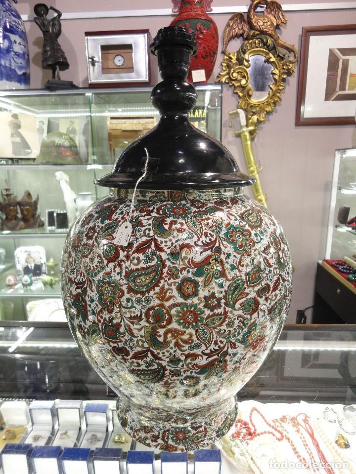 LAMPARA DE PORCELANA (Vintage - Lámparas, Apliques, Candelabros y Faroles)