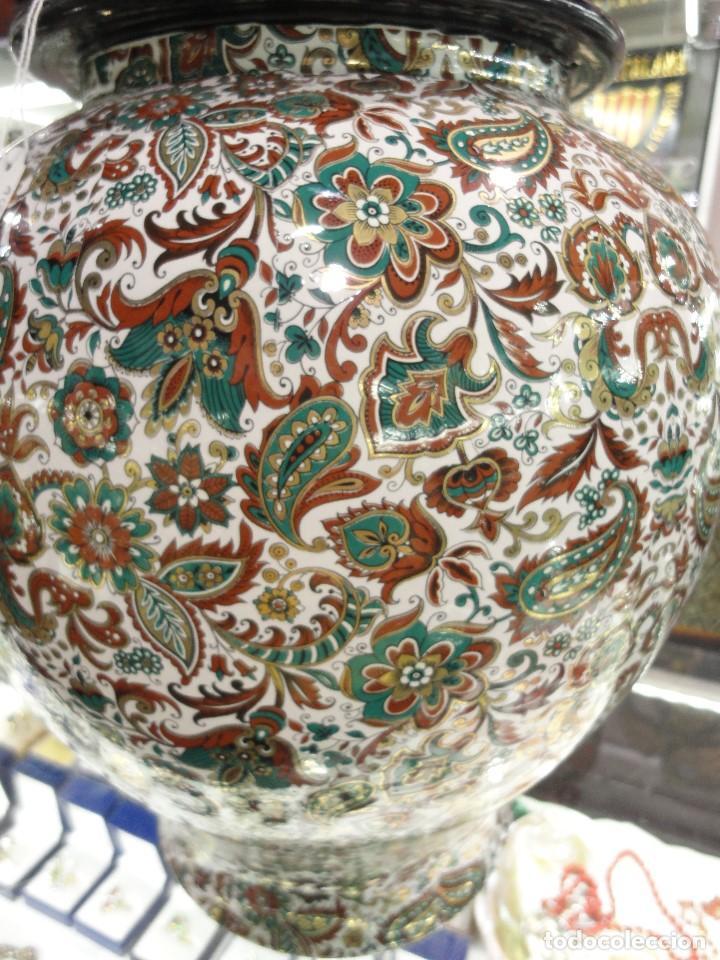 Vintage: LAMPARA DE PORCELANA - Foto 3 - 67214061