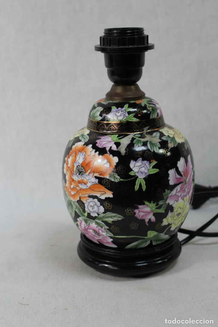 Vintage: lampara de sobremesa en porcelana - Foto 2 - 68003873