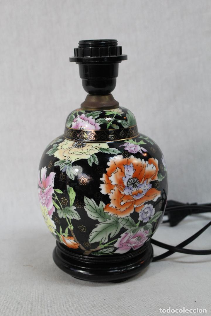 Vintage: lampara de sobremesa en porcelana - Foto 3 - 68003873