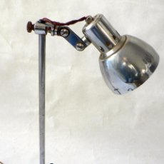 Vintage: LAMPARA DE SOBREMESA CLINICA O INDUSTRIAL AÑOS 50 60. Lote 68019457