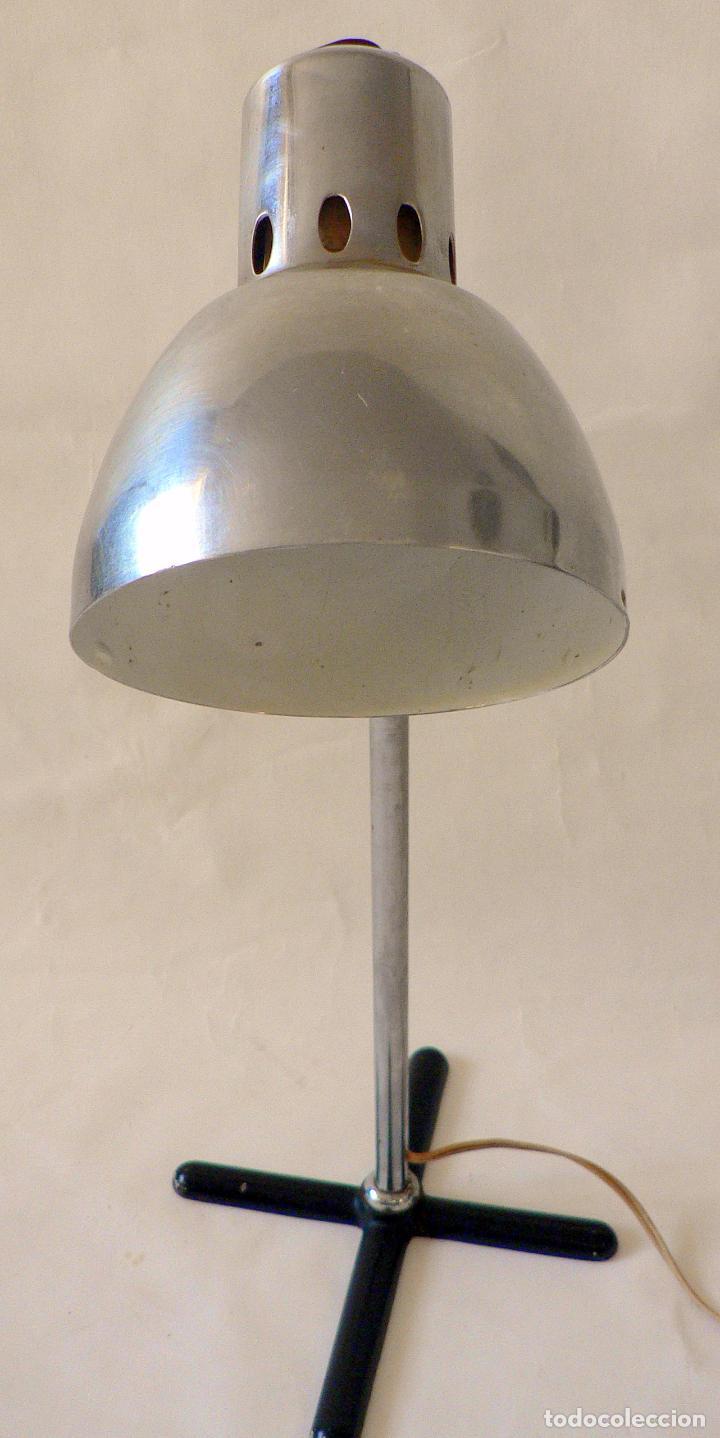 Vintage: LAMPARA DE SOBREMESA CLINICA O INDUSTRIAL AÑOS 50 60 - Foto 6 - 68019457