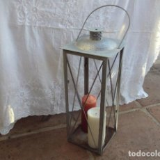 Vintage: FAROL DE METAL. Lote 68075245