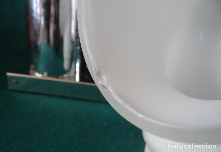 Vintage: LAMPARA CROMADA MESA VINTAGE. DISEÑO 1970. SPACE AGE. FUNCIONAMIENTO. - Foto 10 - 68247869