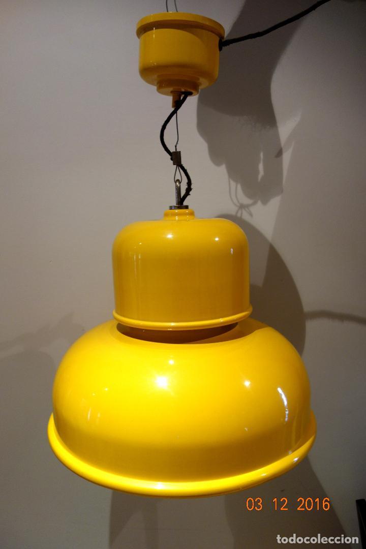 Gran milá lámpara Sold de vintage techo tramo miguel kZOXiPu