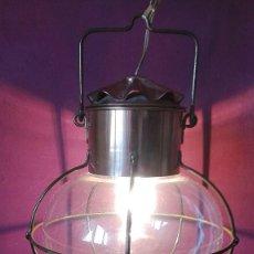 Vintage: FAROL LAMPARA MARINERO COBRE. Lote 69011841