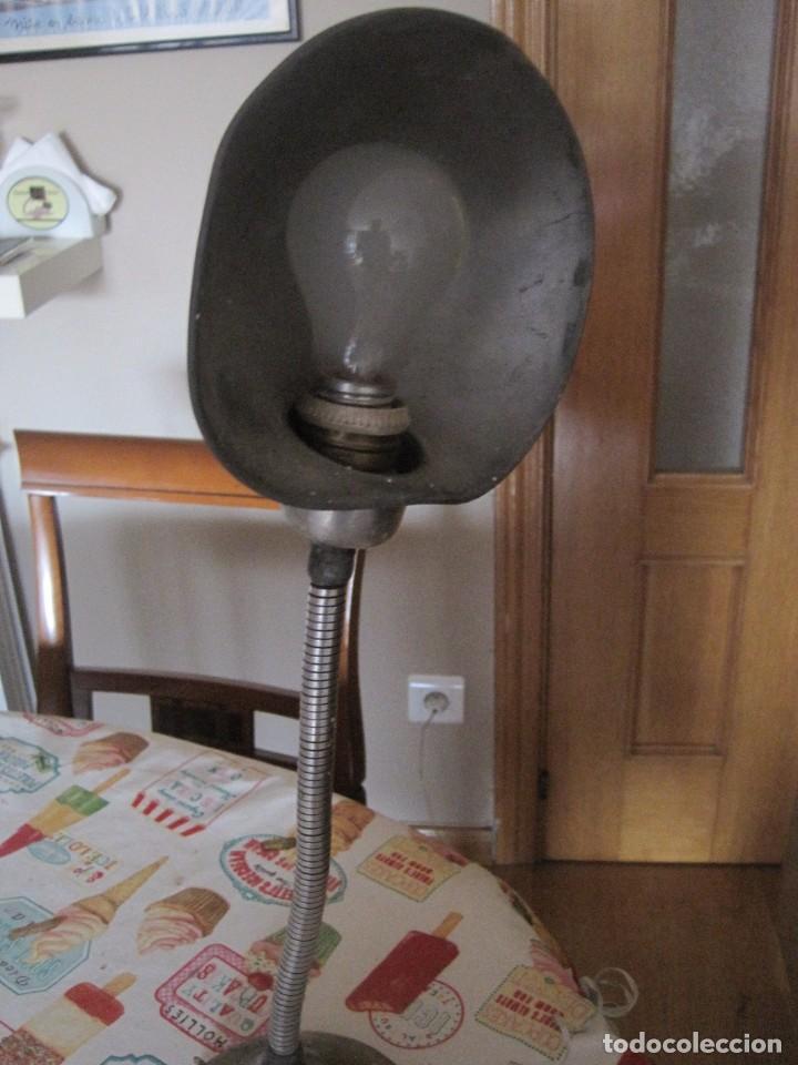 Vintage: GRAN LAMPARA FLEXO MUY ANTIGUA INDUSTRIAL VINTAGE 50CM - Foto 3 - 69284809
