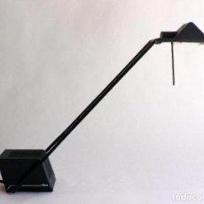 Vintage: LAMPARA FLEXO ESCRITORIO FASE HALOGENA REGULABLE. Lote 69875237