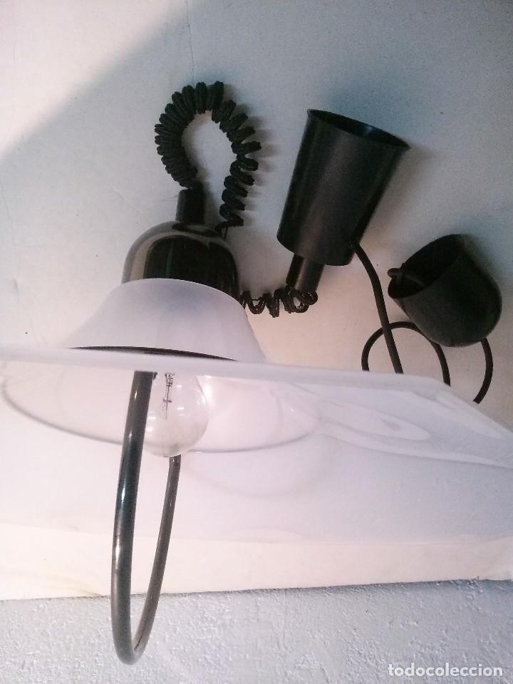 LAMPARA SUBE Y BAJA FRATELLI GIANNELLI (Vintage - Lámparas, Apliques, Candelabros y Faroles)