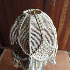 Vintage: LAMPARA - SOMBRERO CUERDA .. Lote 73734087