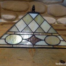 Vintage: PRECIOSA LAMPARA TIPO TIFFANY`S. 31X31 CM. PERFECTO ESTADO, VER FOTOS. Lote 73912875