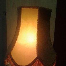 Vintage: LAMPARA ANTIGUA CON PIE DE ALABASTRO. Lote 71850879