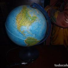 Vintage: LAMPARA GLOBO TERRAQUEO O BOLA DEL MUNDO. . Lote 75491283