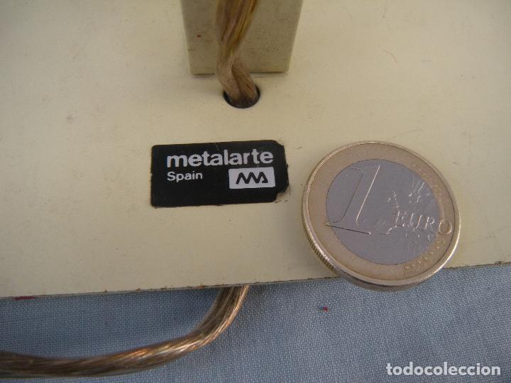 Vintage: LÁMPARA APLIQUE METALARTE, PAREJA. VINTAGE. - Foto 2 - 77374277