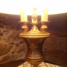 Vintage: PAREJA DE LAMPARAS DE MESA. Lote 80407417