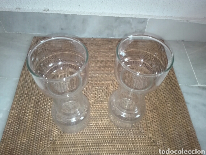 Vintage: candelabros de cristal (2) años 80 - Foto 2 - 81209864