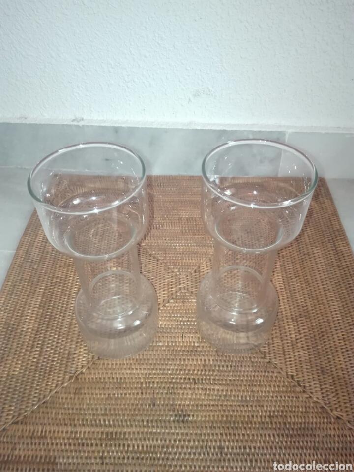 Vintage: candelabros de cristal (2) años 80 - Foto 3 - 81209864