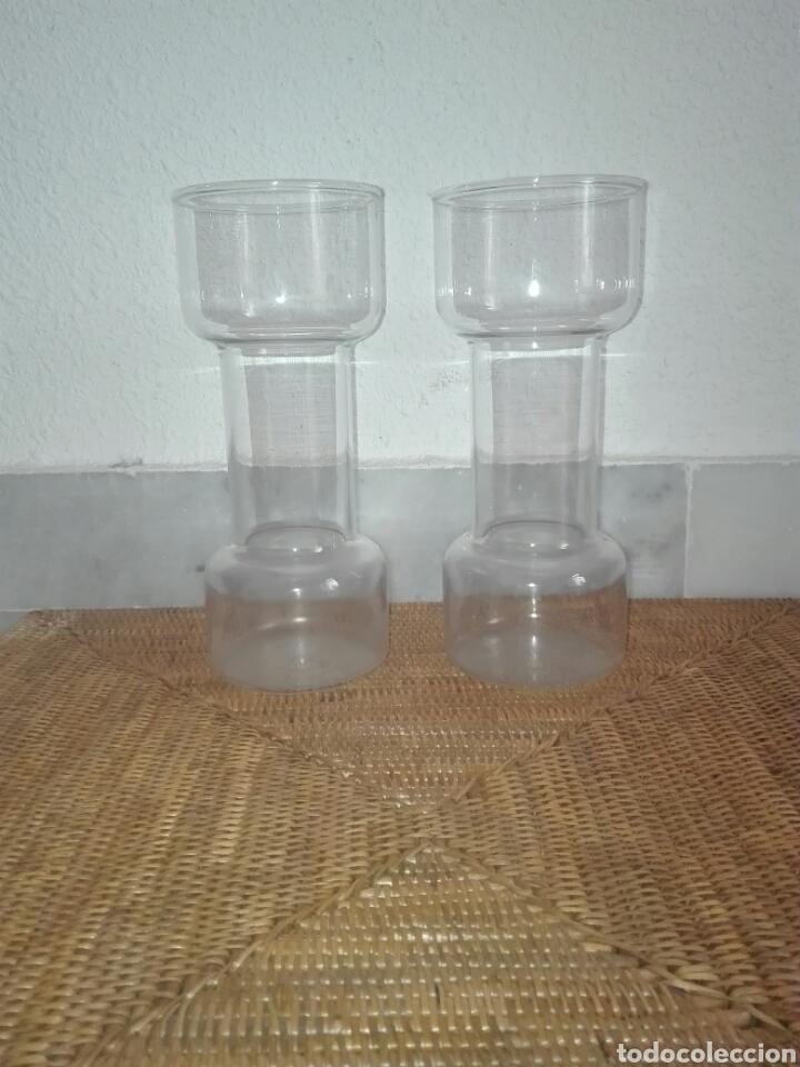 Vintage: candelabros de cristal (2) años 80 - Foto 4 - 81209864