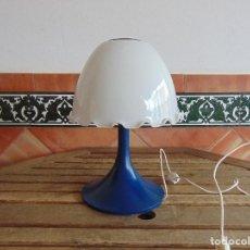 Vintage: LAMPARA DE SOBREMESA DE LA MARCA TRAMO TIPO SETA . Lote 81660568
