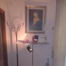 Vintage: PRECIOSA LAMPARA FASE DE PIE CON DOS FOCOS, VINTAGE RETRO, SPACE AGE.. Lote 82986784
