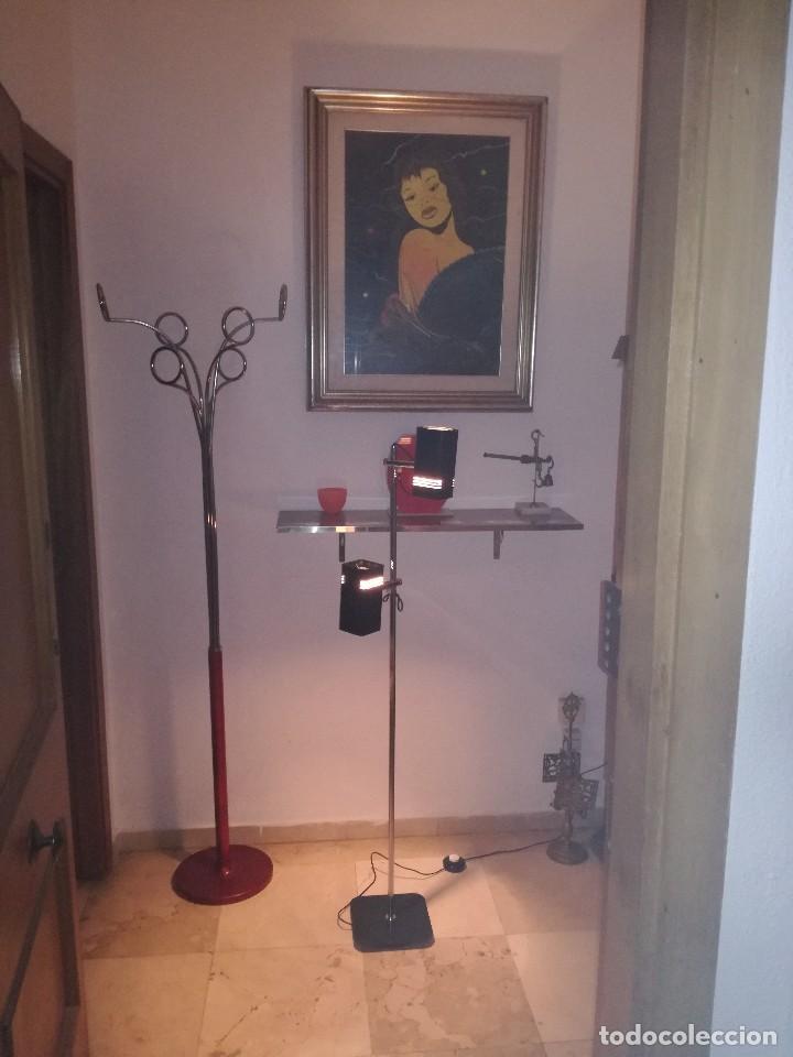 Vintage: PRECIOSA LAMPARA FASE DE PIE CON DOS FOCOS, VINTAGE RETRO, SPACE AGE. - Foto 4 - 82986784