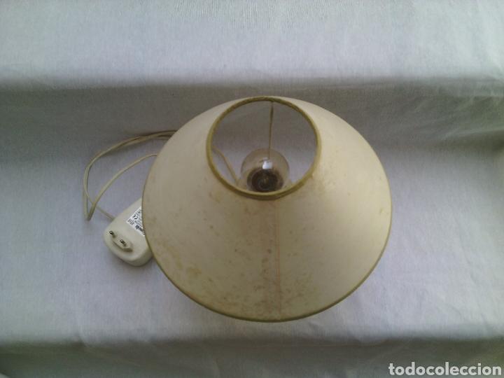 Vintage: LAMPARA SOBREMESA METAL INFANTIL CARRUSEL FERIA.VINTAGE. - Foto 4 - 83736183
