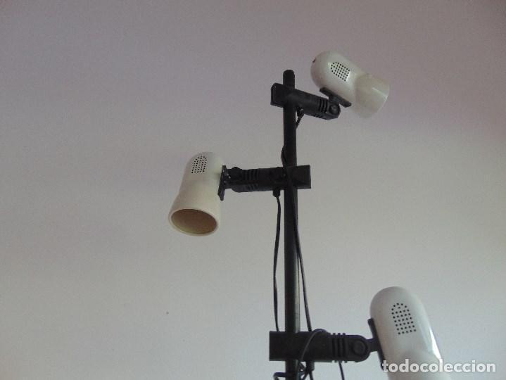 Vintage: LAMPARA DE PIE DE LA MARCA FASE CON 4 FOCOS ORIENTABLES - Foto 4 - 83859768