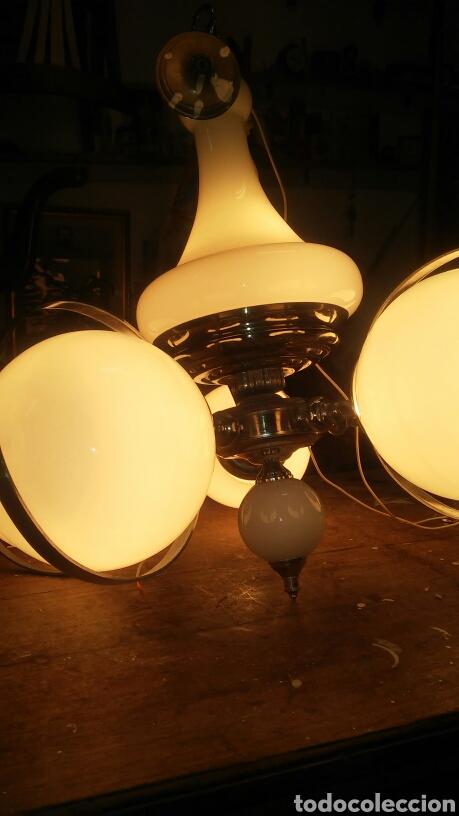 Vintage: Lámpara techo vintage - Foto 3 - 84155850