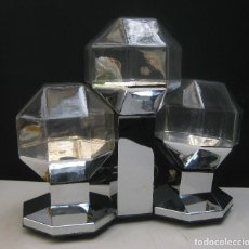 Vintage: MOTOKO ISHII STAFF GERMANY LAMPARA ANTIGUA VINTAGE SPACE AGE SCI FI MESA APLIQUE O TECHO. Lote 85353956